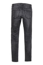 Super Skinny Trashed Jeans - Noir washed out - HOMME | H&M FR 3